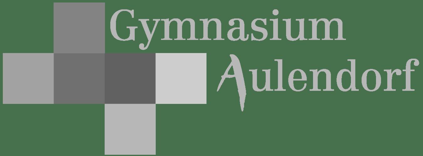 Logo Gymnasium Aulendorf Retina Schwarz-Weiss