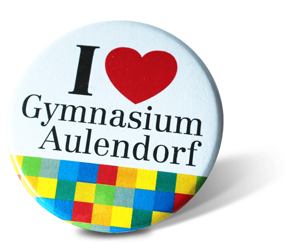 I love Gymnasium Aulendorf-Button