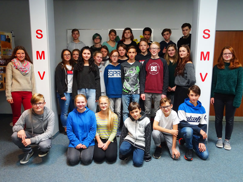 SMV-Gruppenbild – Gymnasium Aulendorf